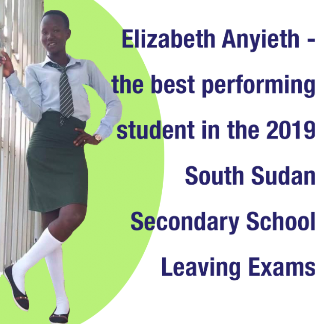 South Sudan top performing student