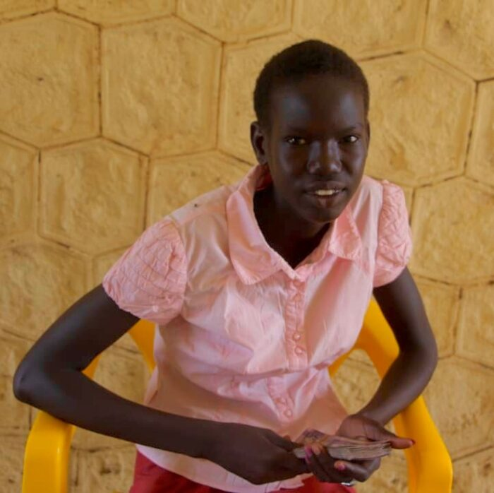 South Sudanese school girl in Juba
