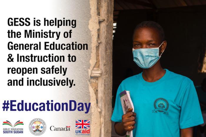 International Day of Education 2021 South Sudan